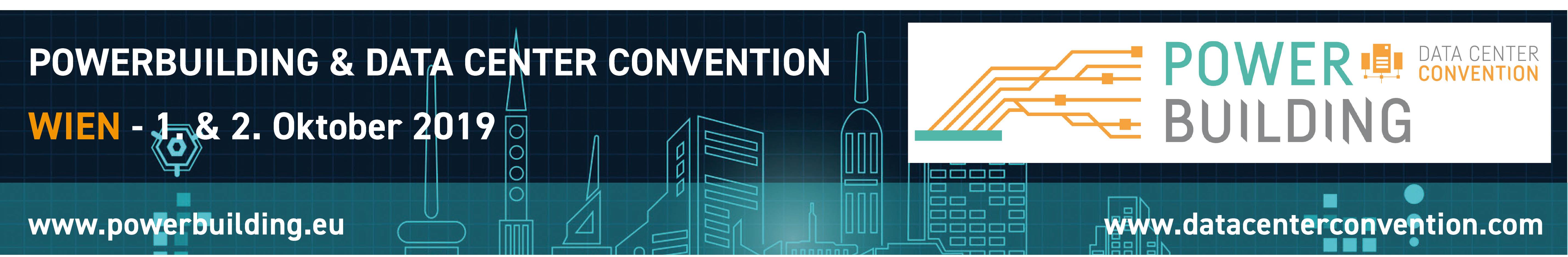 Banner Data Center Convention Wien 2019
