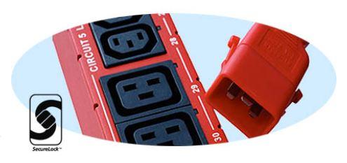 SecureLock-Steckdosen und -Kabel Raritan