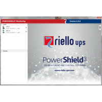 Die neue PowerShield3 USV Management Software von Riello UPS (Version 6.0.0).