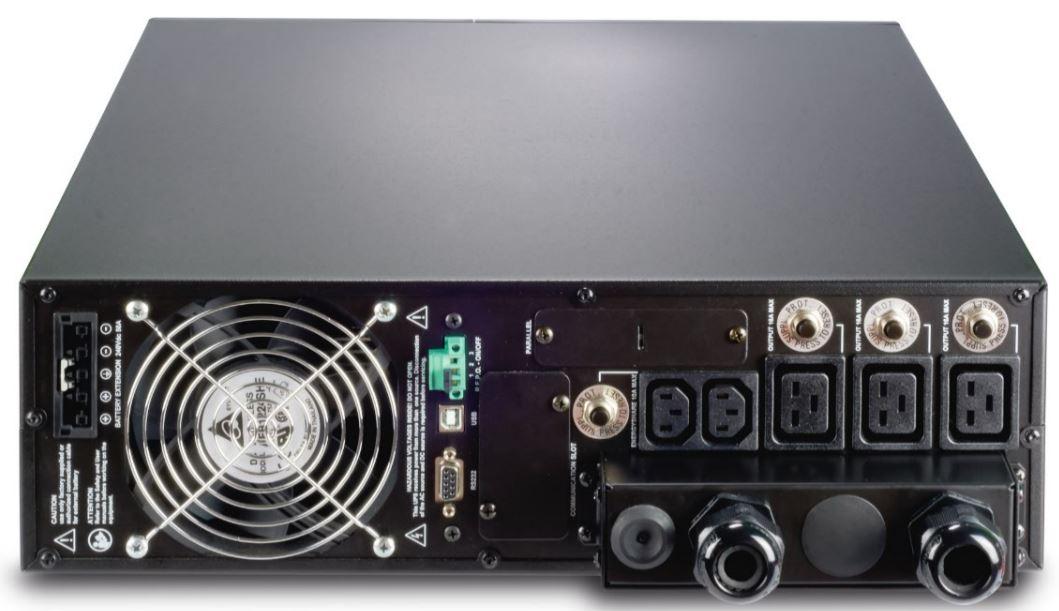 Sentinel Dual SDU Riello UPS 1p/1p einphasige Online USV Anlage mit 5-10 KVA