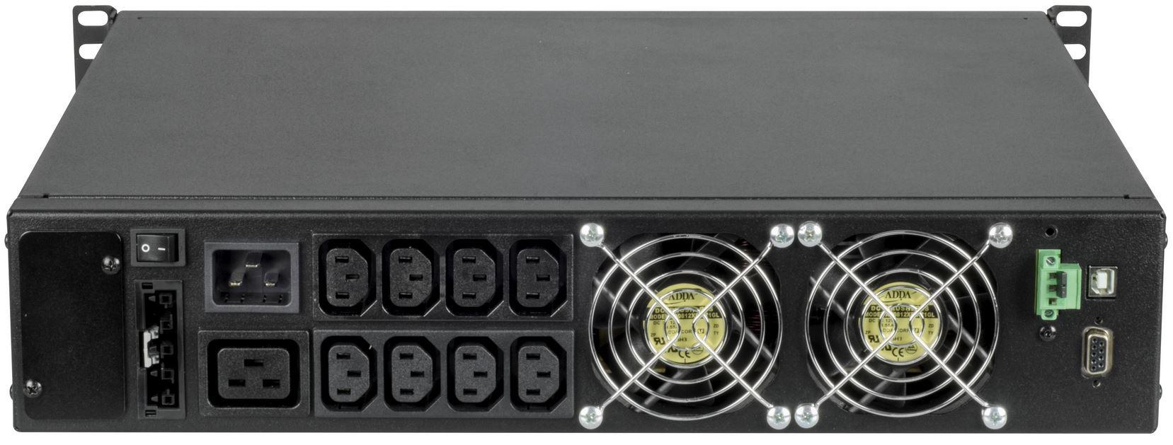 Sentinel Rack Riello UPS Rack USV Anlagen mit geringer Einbautiefe