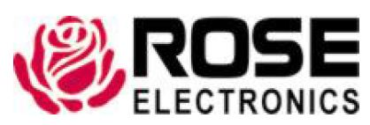 Rose Electronics Logo