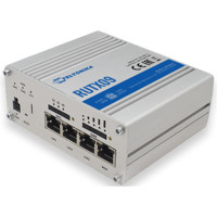 RUTX09 LTE 4G CAT 6 IoT Dual SIM Industrial Cellular Router mit Carrier Aggregation und Gigabit Ethernet von Teltonika