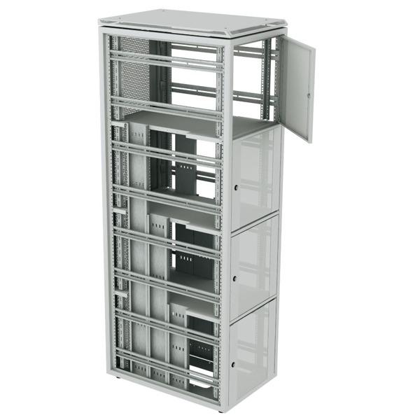 WZ DSR Von ZPAS Ist Ein 19 Zoll Colocation Schrank Mit Einer Höhe Von 47HE