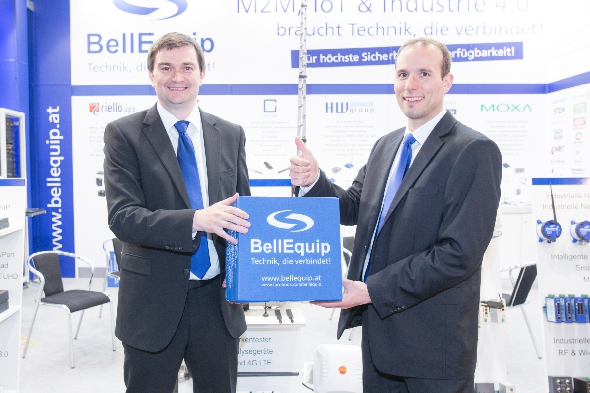 BellEquip Geschäftsführung Martin Hinterlehner und DI (FH) Günther Lugauer