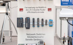 Die Trend-Schlagworte für das Thema industrielle Datenkommunikation mit dem Hersteller Advantech waren bei dieser SMART: M2M Kommunikation, IoT - Internet of Things, NB-IoT und LoRaWAN