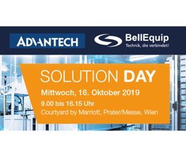 Solutionday BellEquip & Advantech Wien 2019