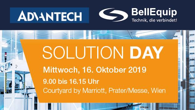 Solutionday BellEquip & Advantech Wien 2019